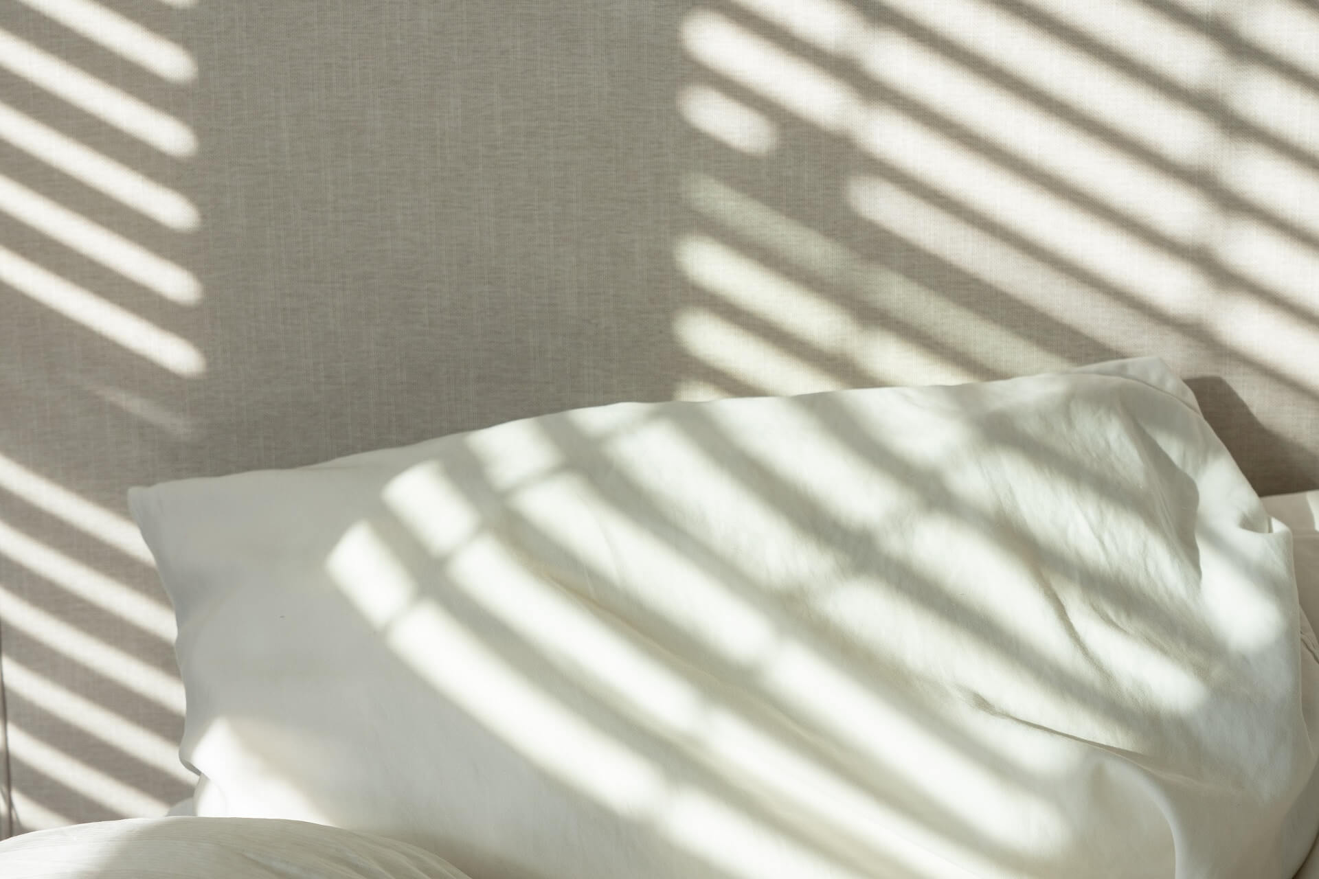 image of a cozy bed